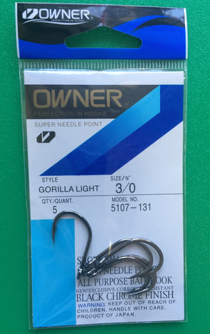 Owner Gorilla Light Hook