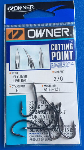 Owner Flyliner Live Bait Hook