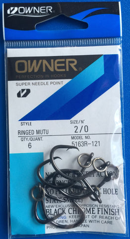 Owner Ringed- Mutu Hook