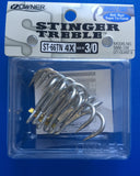 Owner Stinger Treble Hooks
