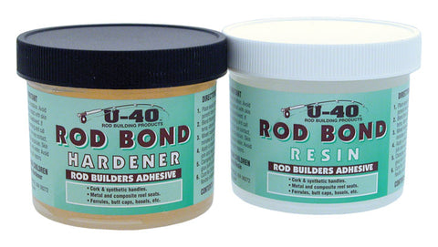 U-40 Rod Bond Hardener & Resin Epoxy Set