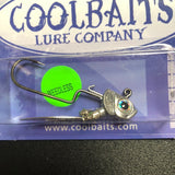 "Coolbaits ""Down Under"" Weedless Spinner Leadhead"