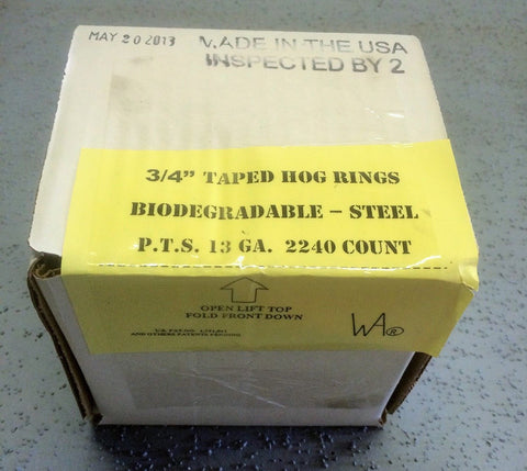 Wematic Taped Hog Ring Cartridges