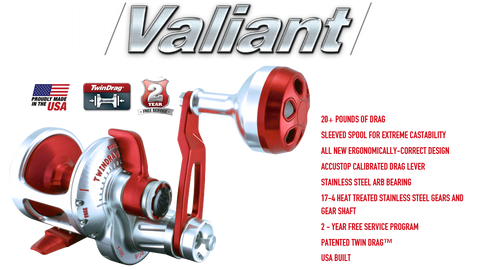 Accurate Valiant Single Speed and Two Speed Reels