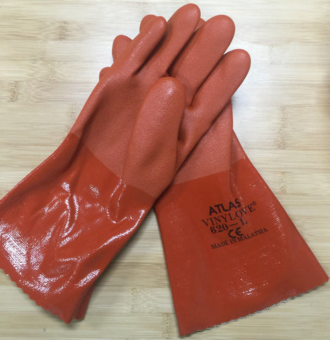 Atlas 620 Double Dipped Vinyl Oil and Chemical Resistant Gloves