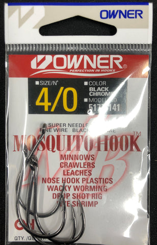 LP Fishing Supply Owner Mosquito Hook 5177