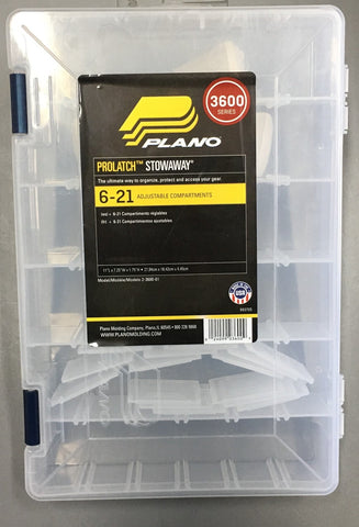 Plano Prolatch Stowaway box with Adjustable Compartments