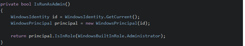 C# - Force .NET application to run as administrator
