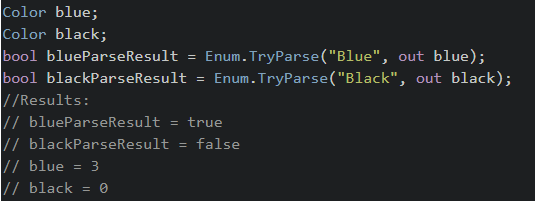 C# - Cast int to enum