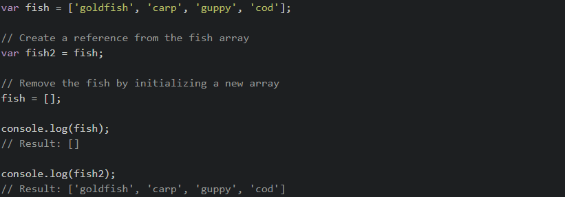 JavaScript - Remove element from array