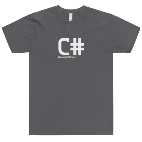 C# Developer Shirt