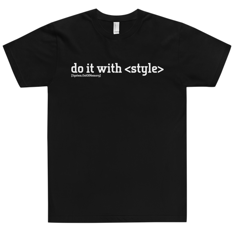 Do It With Style Tee