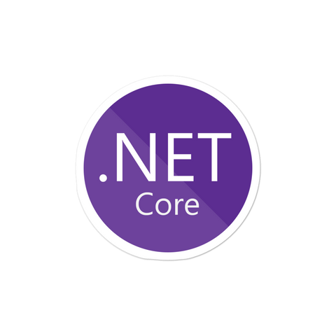 .NET Core Sticker