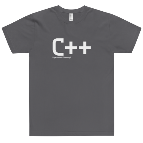 C++ Developer Shirt