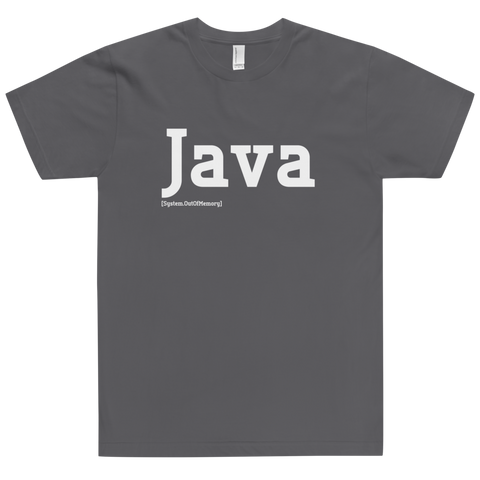 Java Developer Shirt