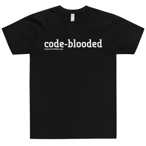 Code Blooded Tee