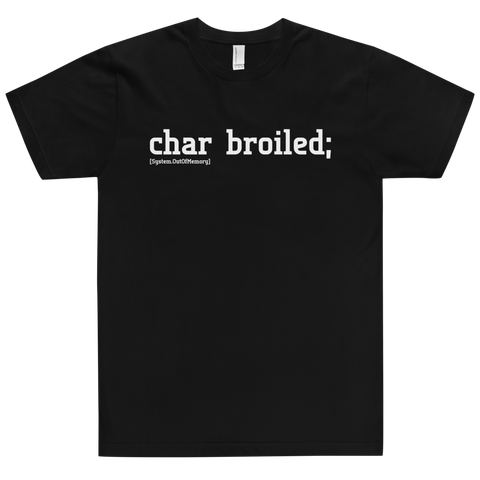 Char Broiled Tee