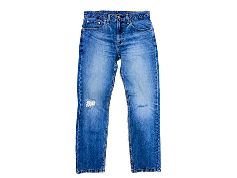 Levi's 502 Taper Blue Comet DX
