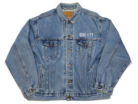 Quality Denim Trucker