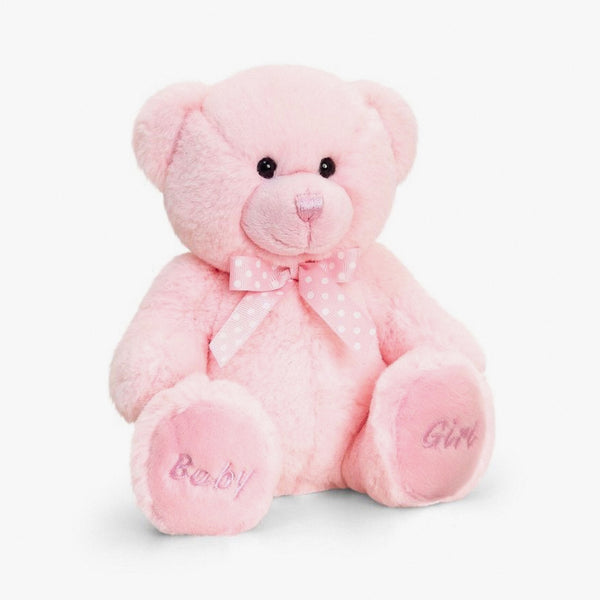 Baby Bear Soft Toy - Pink - Berry & Blossoms