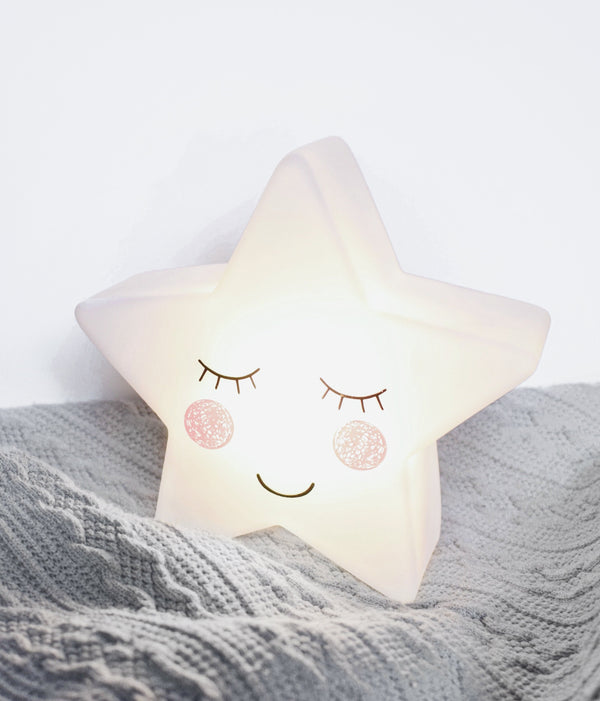White Star Night Light - Berry & Blossoms