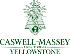 Caswell-Massey x Yellowstone Forever Logo
