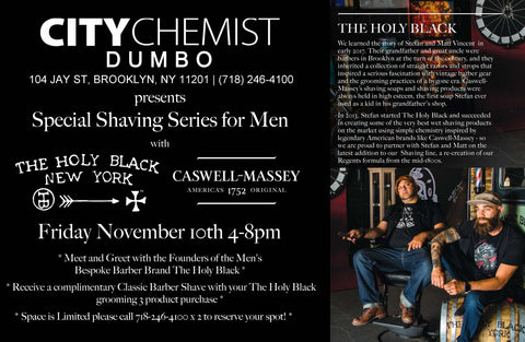 The Holy Black Shave Event