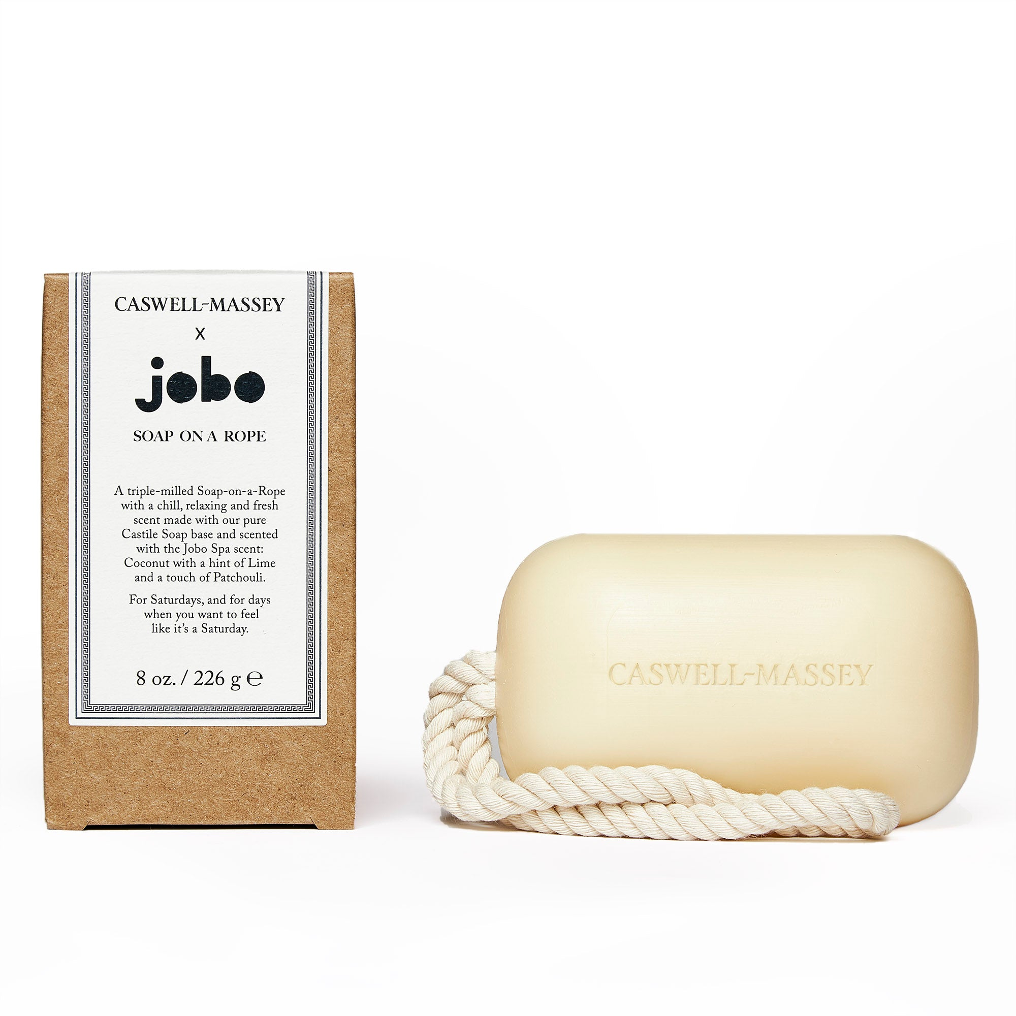 Jobo Spa Soap-on-a-Rope