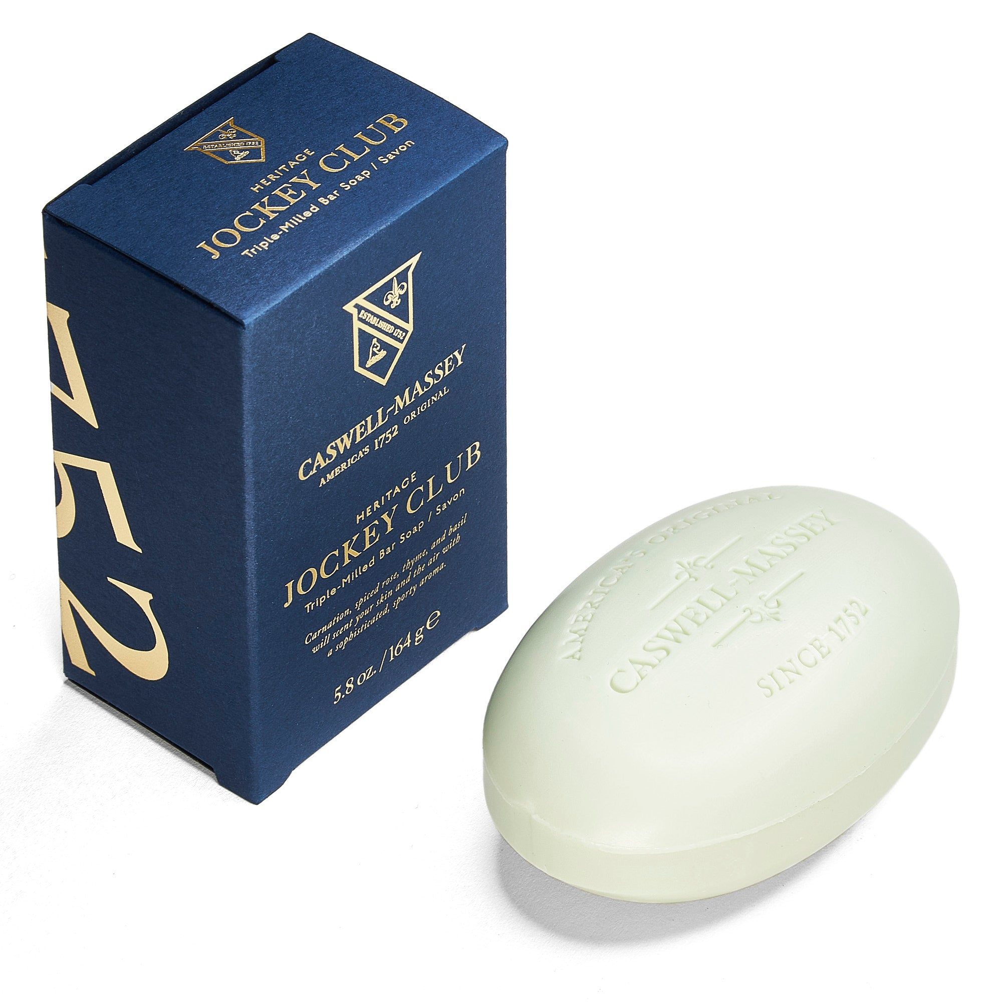 Heritage Jockey Club Bar Soap
