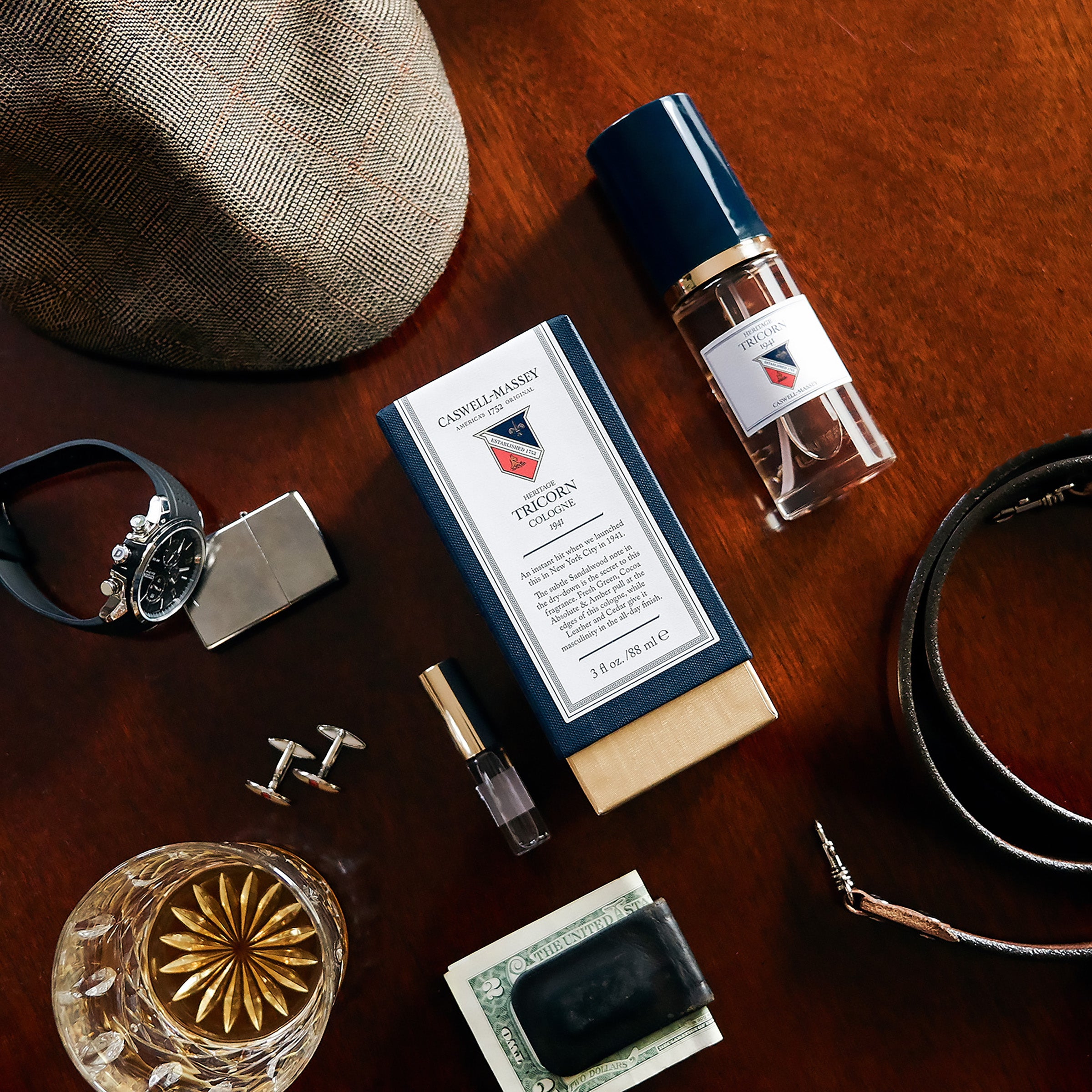 Heritage Tricorn - 88ml Cologne