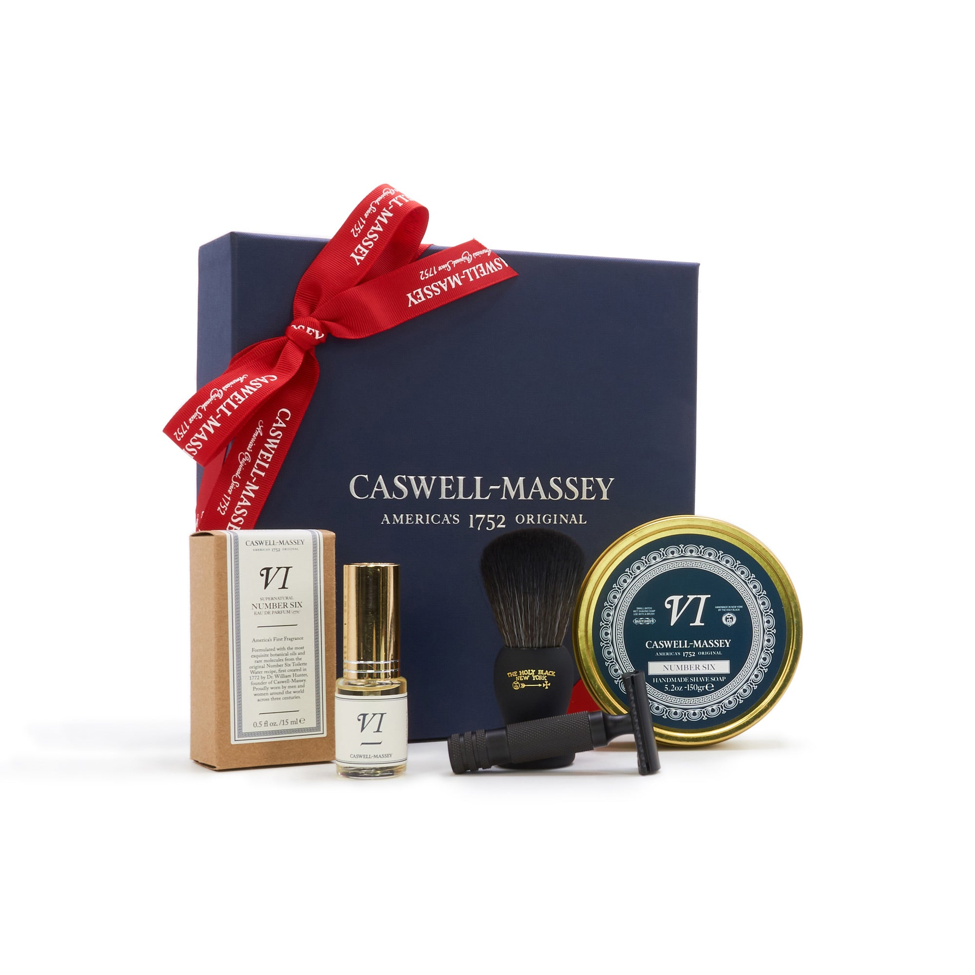 Number Six Premium Shave Gift Set with Razor