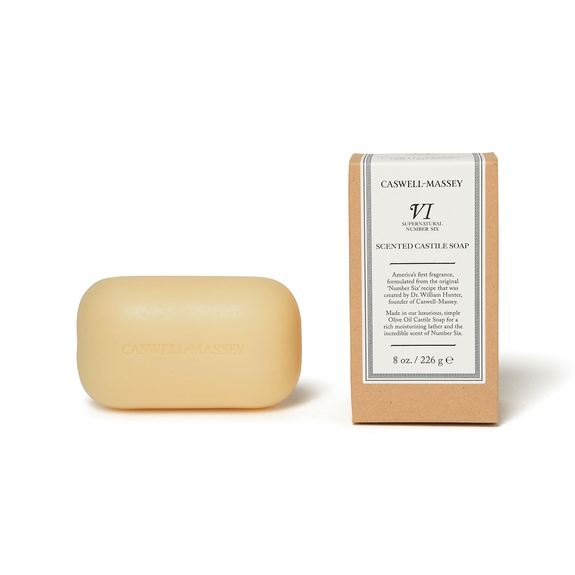 Supernatural Number Six Castile Bar Soap