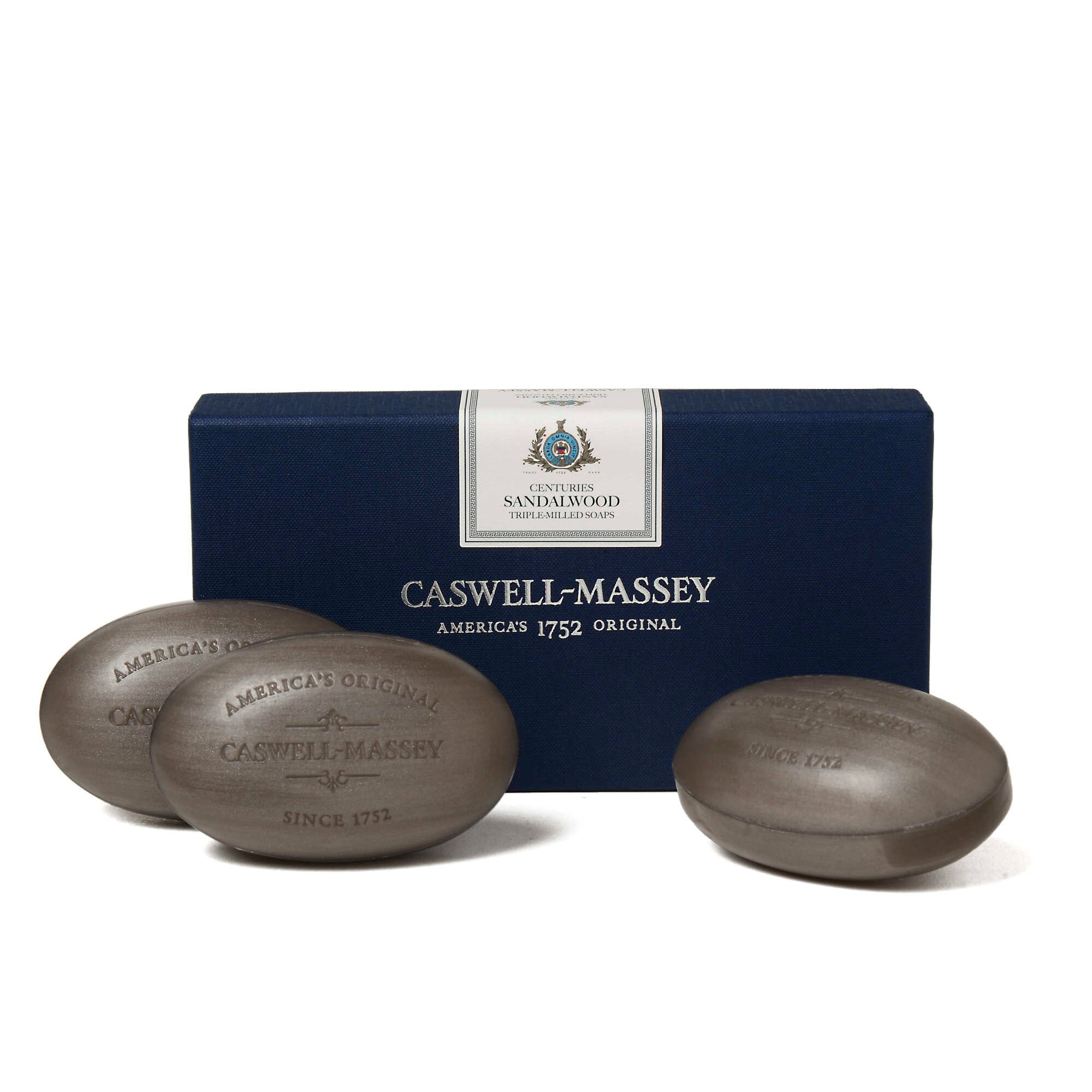 Centuries Sandalwood Three-Soap Set