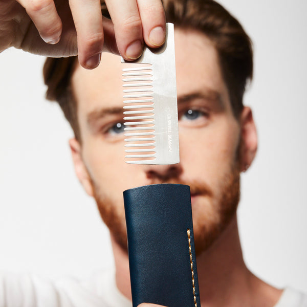 Caswell-Massey® Ezra Arthur for CM: Mustache Comb with Case