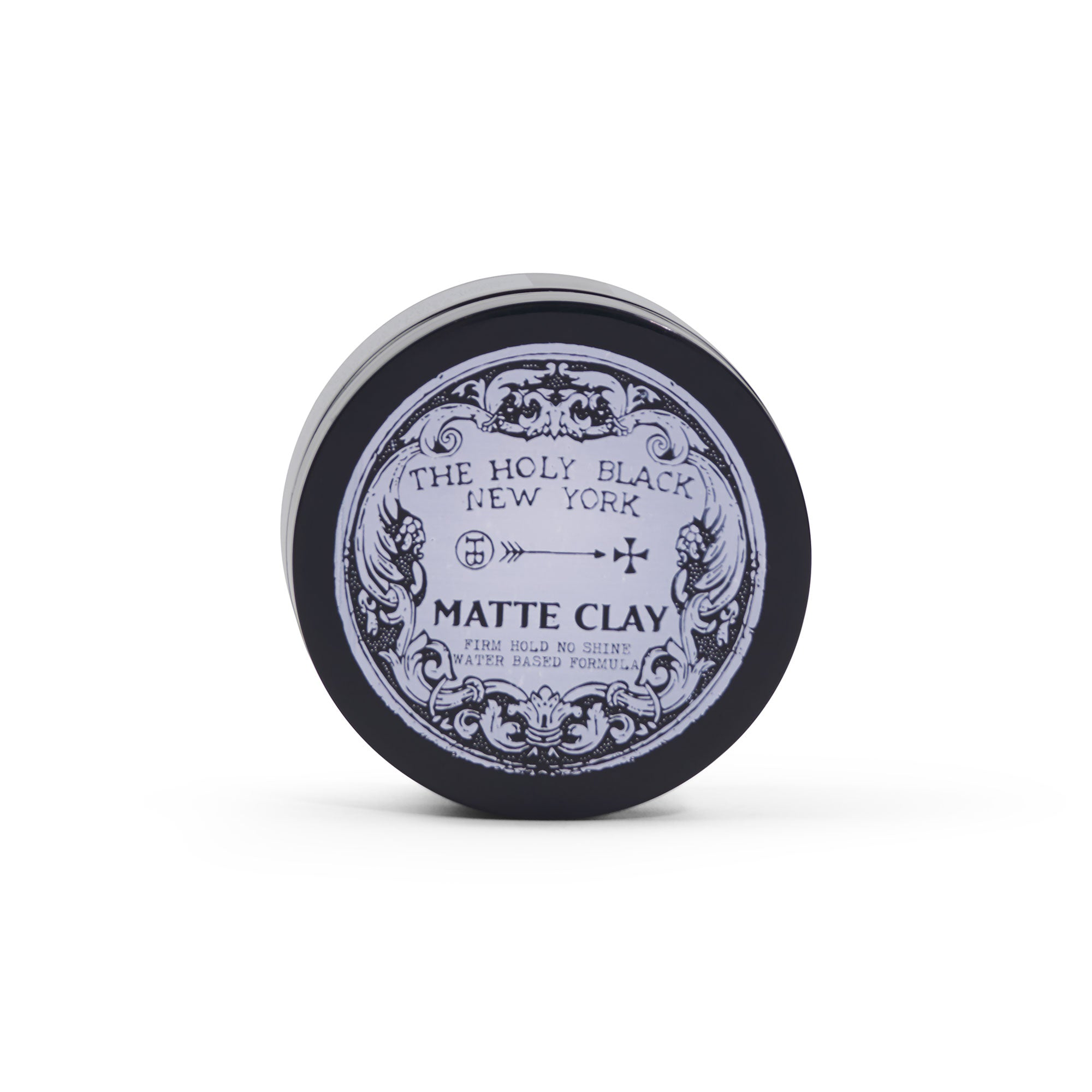 The Holy Black Matte Clay Pomade