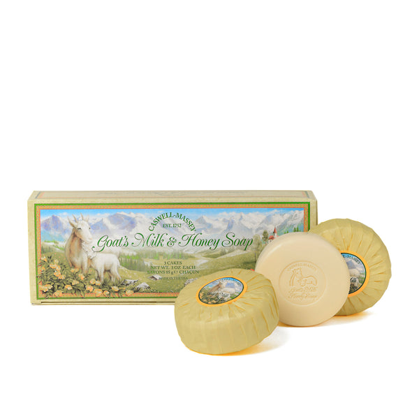 Caswell-Massey® Goat's Milk & Honey Three-Soap Set