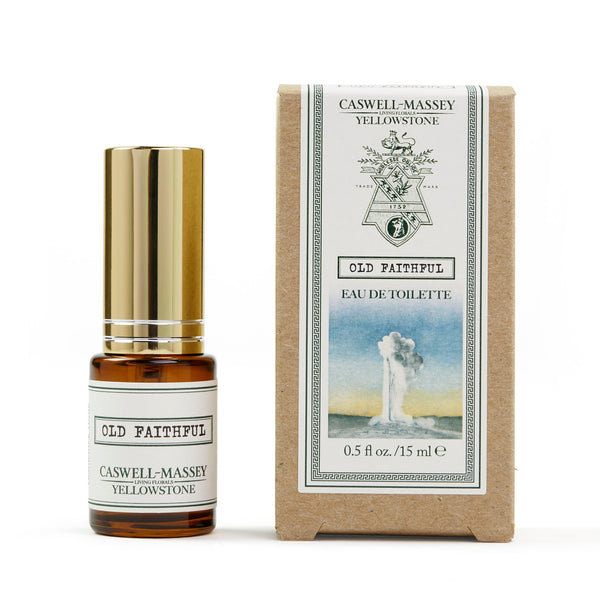 Caswell-Massey® Yellowstone Old Faithful | 15ml Fragrance Tonic