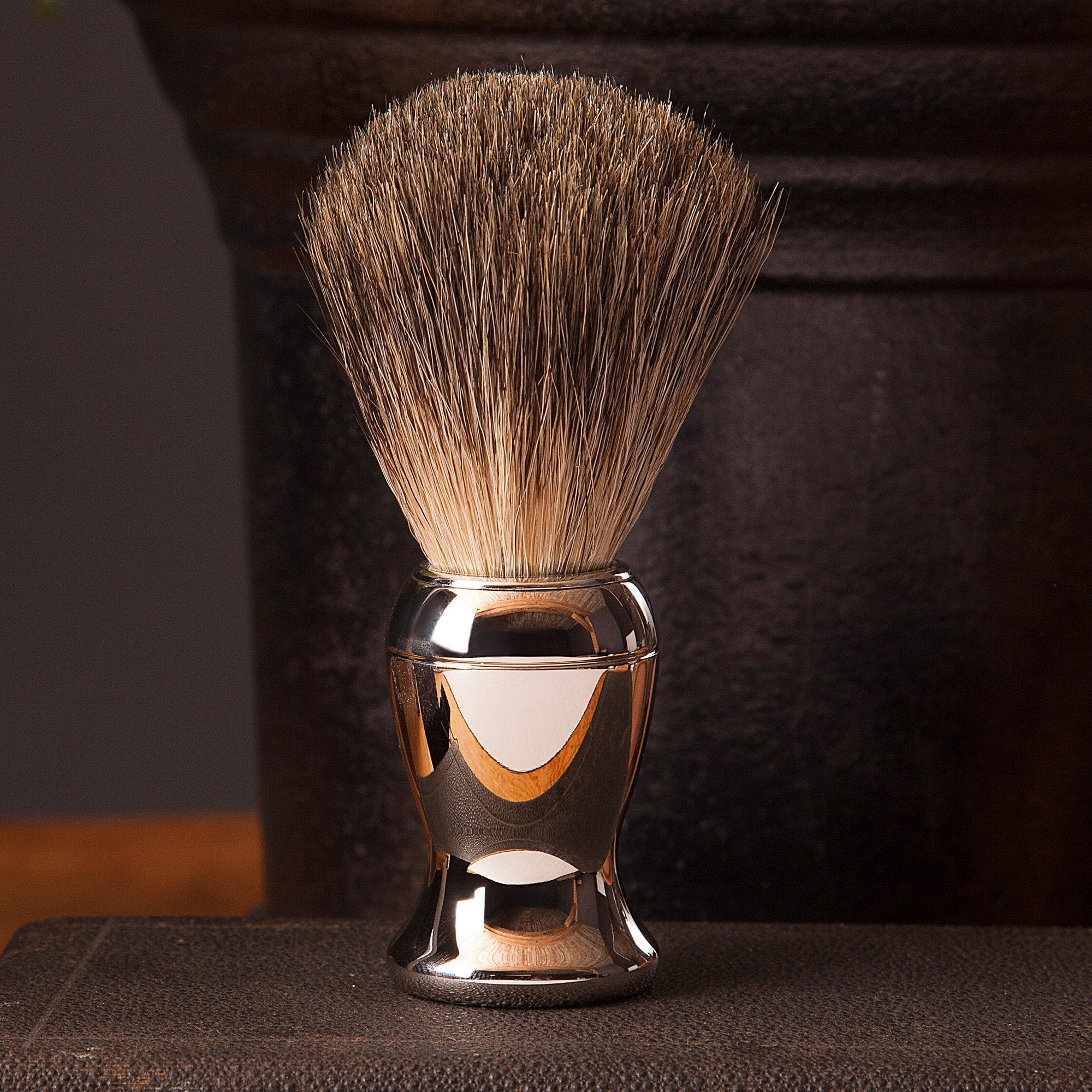 Chrome Shave Brush