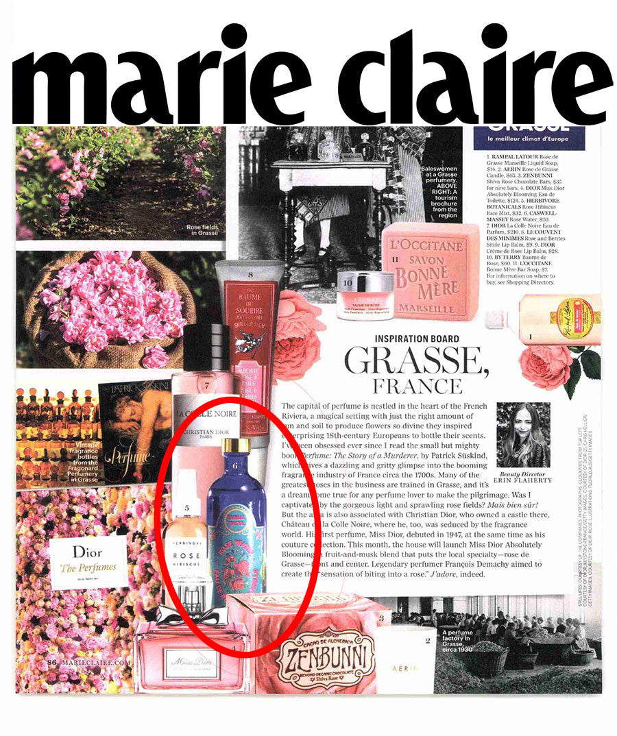 Caswell Rosewater featured in Marie Claire