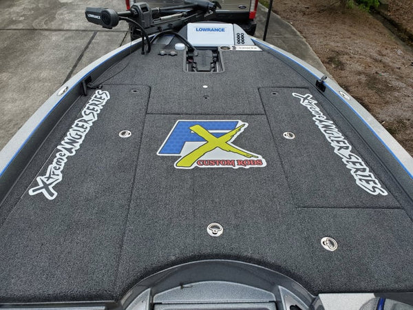 "Official ""FX Custom Rods"" Carpet Decal"