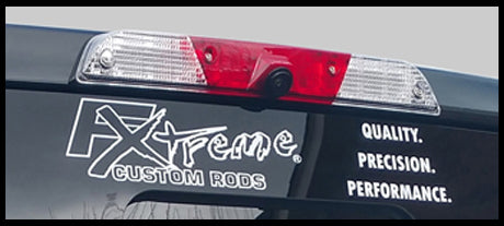 "Vinyl Decal FX-Quality. Precision. Performance 18"" x 3.20"" - Fish Xtreme"