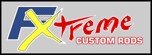 VINYL DECAL FX CUSTOM RODS - Fish Xtreme