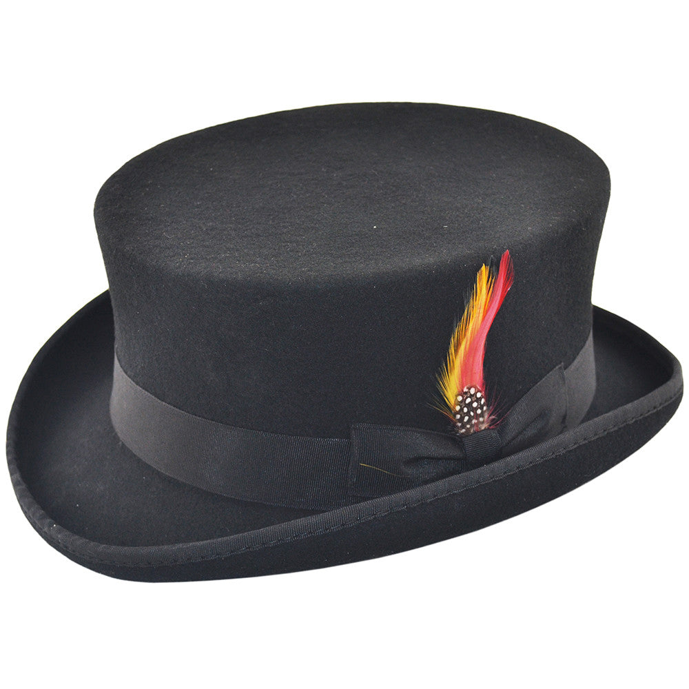874de2af144 Junior or DeadMan Wool Felt Top Hat – hats4u.eu