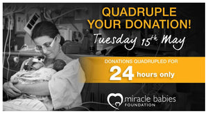 WaterWipes is Proud to Support Miracle Babies