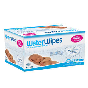 WaterWipes Mega Value Box 12x60 Packs