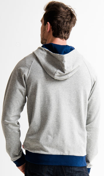 PTOWN HOODIE GRAVEL HEATHER