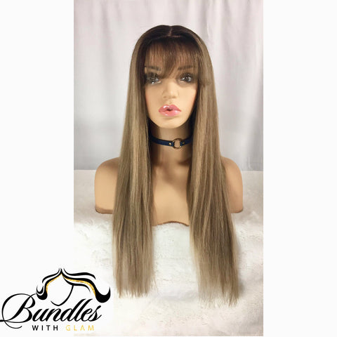 "100% Virgin Brazilian Custom Lace Wig ""Klarissa"""