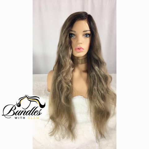 "Virgin Custom Lace Wig ""Beatriz"""