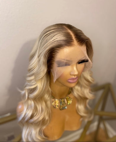 100% Brazilian Human Hair Lace Frontal Wig