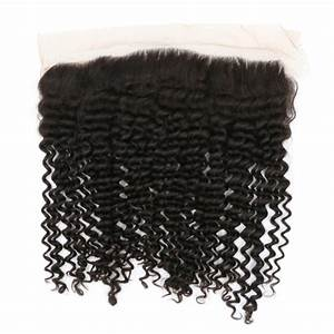 100% Virgin Swiss Lace Frontal ( Kinky Curly)